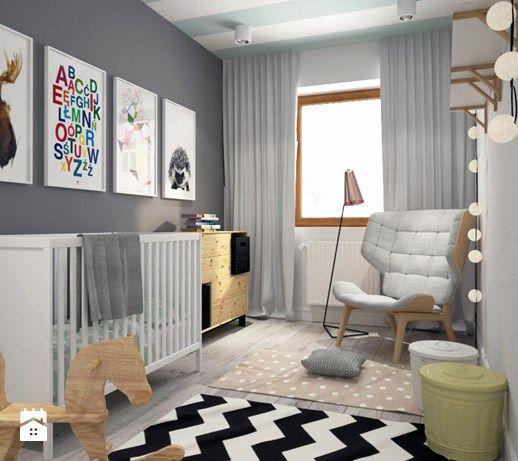 Pokój dziecka styl Skandynawski - zdjęcie od DOMagała Design