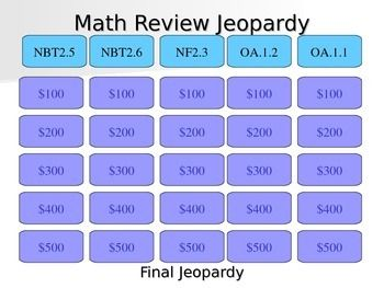 tcap review jeopardy 3rd grade 2017 2018 2019 ford