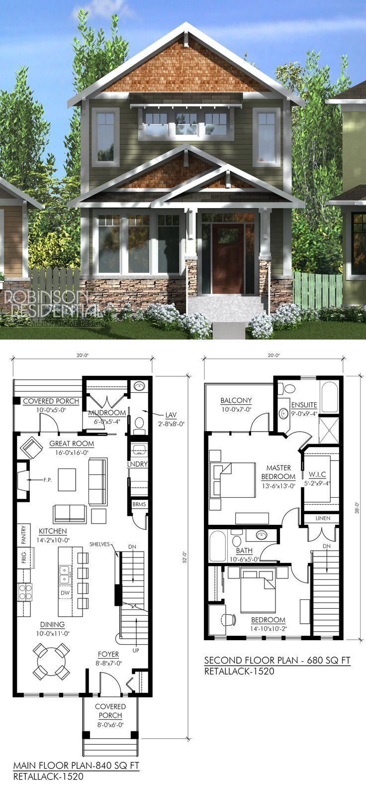 Best 25 narrow house plans ideas on pinterest narrow for Triplex plans for narrow lots