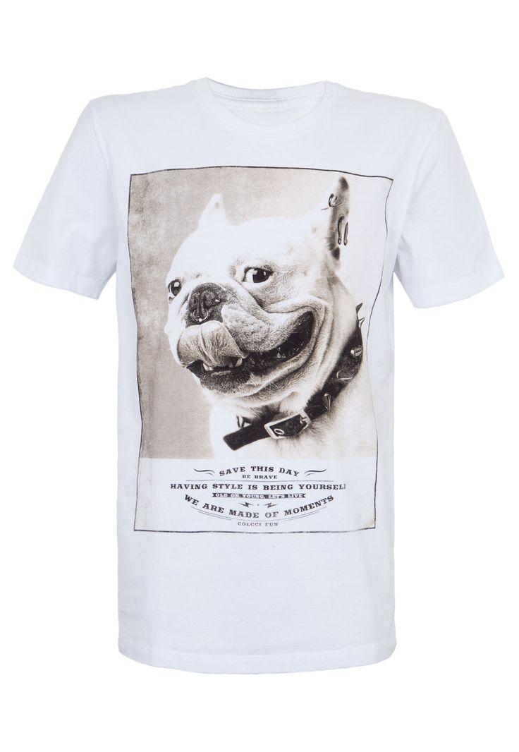 Camiseta Colcci Fun Branca - Compre Agora | Colcci Brasil