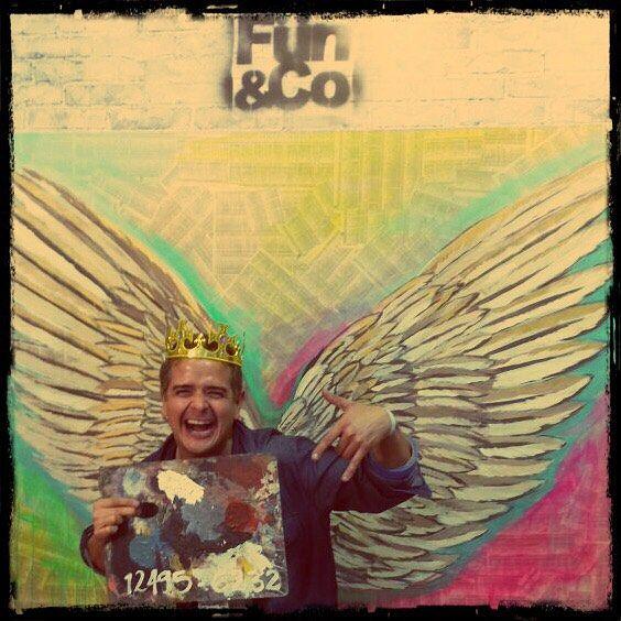 El ARTE QUE TE DA PODER. Eres realmente FUN&Co. @claudiaangelarte  #colombiamoda #arte #historias #alado #king