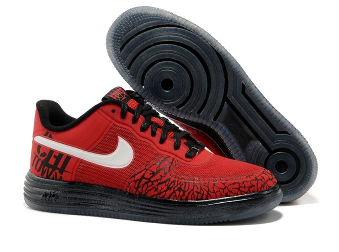 Nike Air Force One - sports shoes  Sports shoes for men and women - Nike Air Force One is a combination of leather and textile. The interior of the shoe is lined with textile material for better comfort.