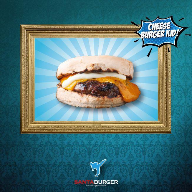 Te presentamos al miembro de la familia más joven, la #CheeseBurgerKid, pequeña pero mortalmente deliciosa! #FamiliaBurger