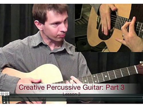 Percussive Guitar To A New Level. Play #guitar appropriately
