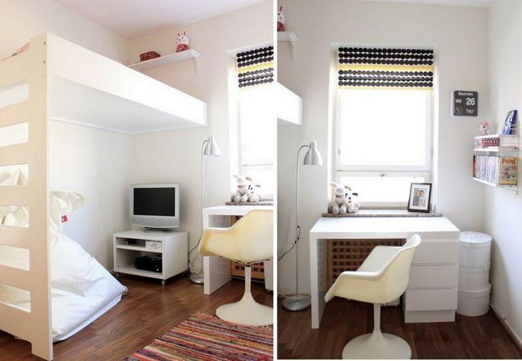 25 beste idee n over kleine kamers inrichten op pinterest for Inrichten kleine ruimtes