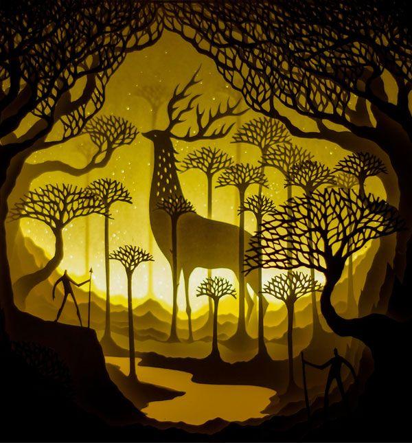 159 best Papercraft images on Pinterest | Paper sculptures, Cut ...