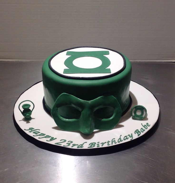 1000+ ideas about Green Lantern Cake on Pinterest Green ...