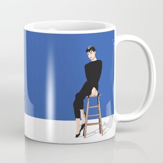 AUDREY HEPBURN 02. [mug] by MESSYMISSY76