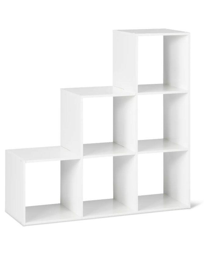 Rebrilliant Emilee Stackable 12 Open Wood Cube Bookcase Wayfair Cube Bookcase Cube Storage Home Basics