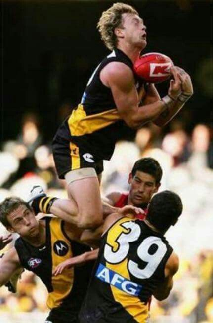 """Kayne Pettifer taking a screamer. I think he started calling himself """"the plane"""" after this."""