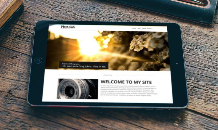 Darmowy Szablon WordPress PhotoLab – Eleganckie Rozwiązanie Dla Aktualizacji Wyglądu Bloga