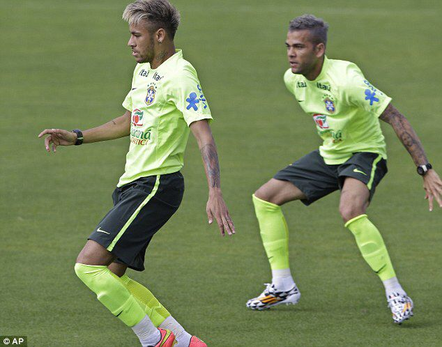 Neymar Hairstyles At Fifa World Cup 2014