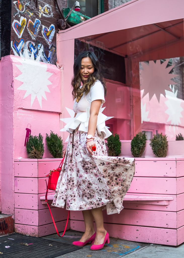 48bdcbab534 Oh So Girly Outfit at Pietro Nolita  Candy Pink
