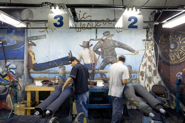 Photo essay: the denim factory