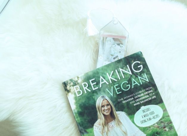 ::the balanced blonde's book, breaking vegan. Jordan Younger talks struggling with orthorexia::