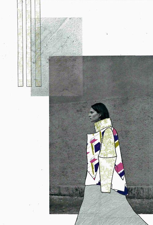 Fashion Sketchbook layout - fashion illustration, fashion student portfolio // Cecilia Adade