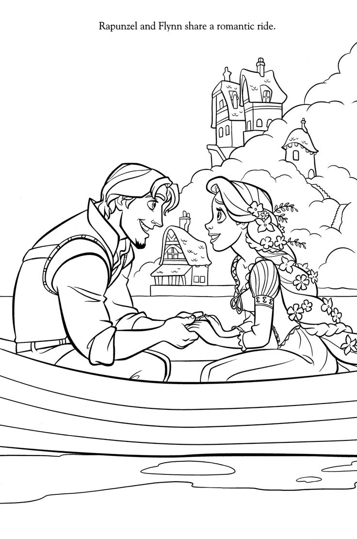 Ra rapunzel coloring pictures - Disney Coloring Pages