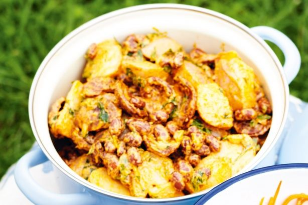 This easy, refreshing and vibrant potato salad is made for picnics with friends.