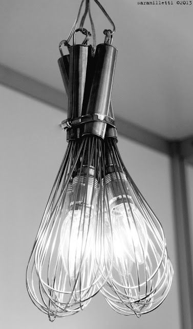 Whisk Lighting for the Kitchen (I couldn't possibly love this more!)