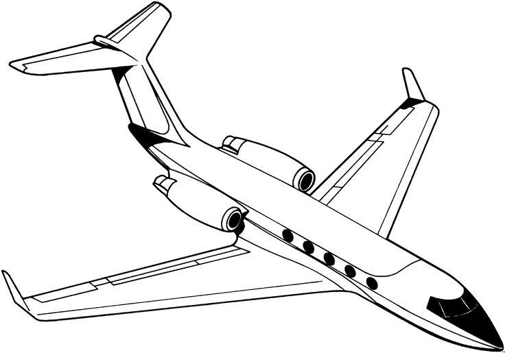 ausmalbilder flugzeug 03  malvorlagen malvorlagen für