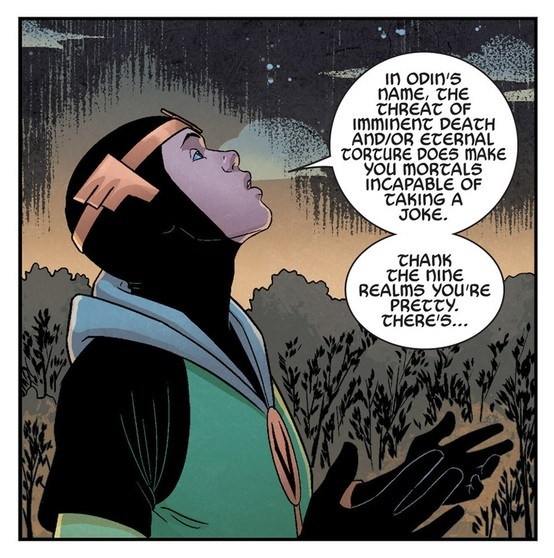 Kid Loki - Young Avengers #4