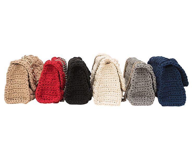 crochet shoulder bags