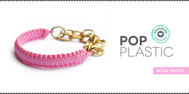 plastic lace bracelet