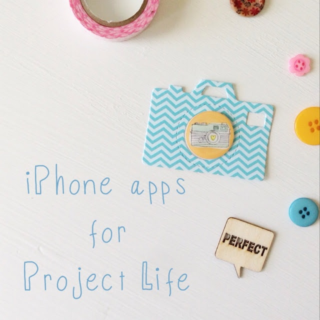 #iPhone apps for #ProjectLife Check it out!
