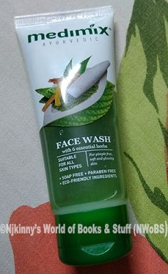 #ProductReview: #MedimixAyurvedicFaceWash (with 6 Essential Herbs) ~My Mother's Advice in One Product! ~ Njkinny's World of Books & Stuff (NWoBS) www.njkinnysblog.com/2016/07/review-medimix-ayurvedic-face-wash-with.html #SkinCare #NewLaunch #GoodnessOfNature #glowingskin #Pimple #Neem #Turmeric #Aloevera #ProductReview #BeautyBlogger #NaturalIngredients #parabenfree #Soapfree #ecofriendlyingredients
