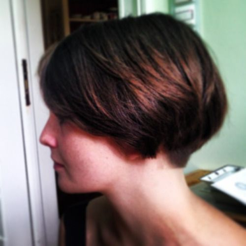 1000+ ideas about Short Wedge Haircut on Pinterest | Wedge Haircut ...
