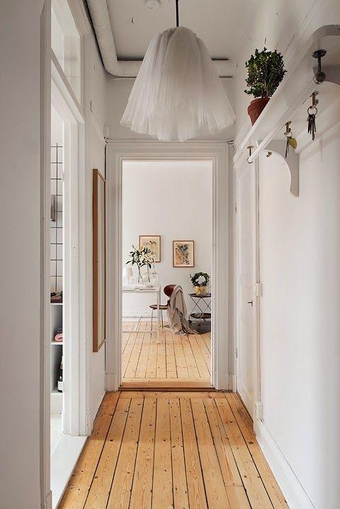 A fresh, white Stockholm apartment