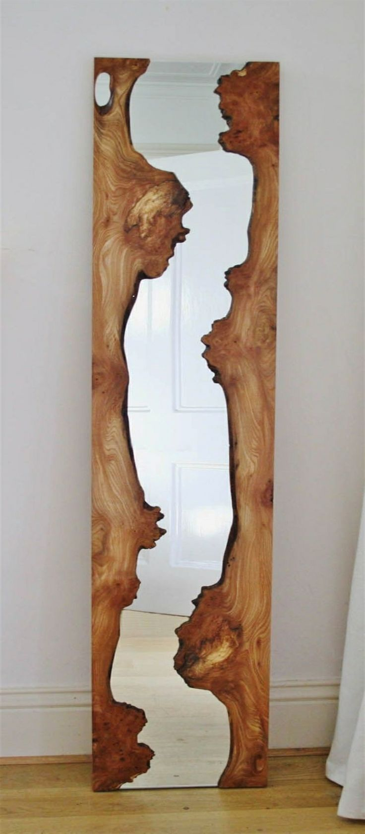 ✤Split Wood Mirror✤
