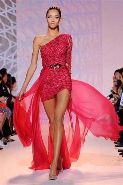 Zuhair Murad - Parigi - Haute Couture Autunno Inverno 2014/2015 - Sfilate - MarieClaire