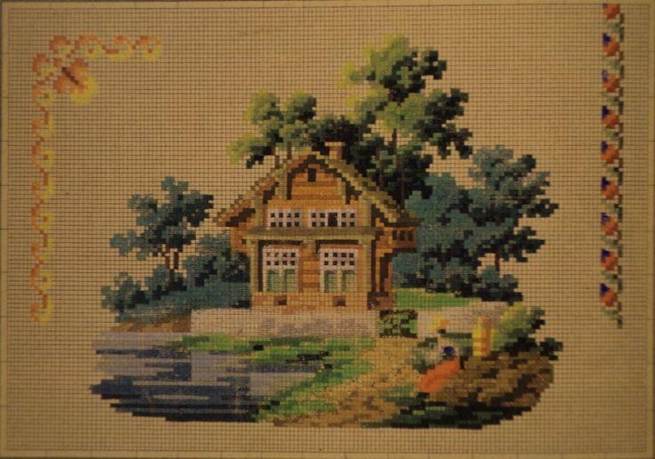 A Berlin WoolWork Scenic Pattern