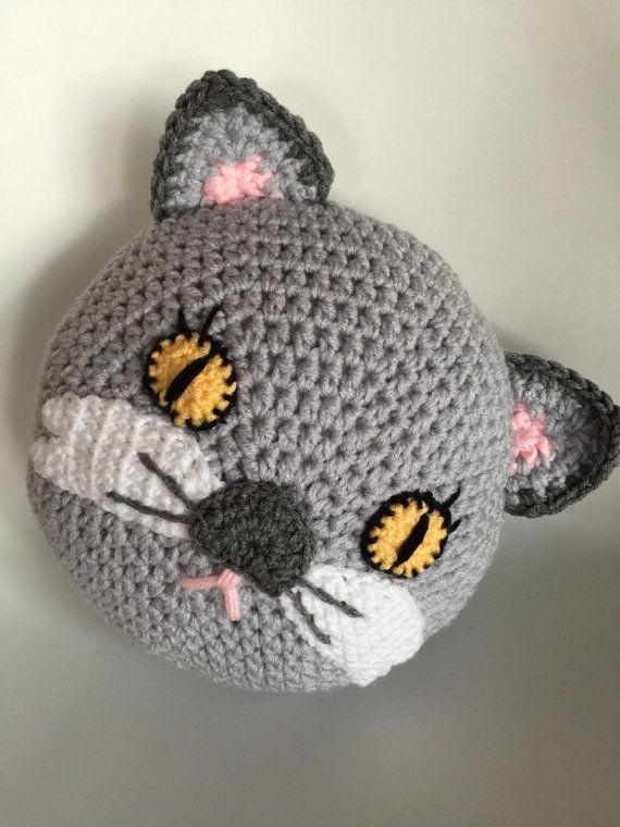 almohadones crochet animales buscar con google h keln pinterest kissen eule und katzen. Black Bedroom Furniture Sets. Home Design Ideas