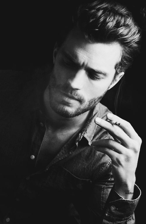 Jamie Dornan... I'll take him and his accent, Can this guy get any more handsome?