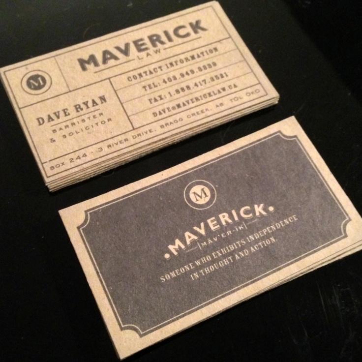 kraft business cards fontspiration pinterest carte de visite et cartes. Black Bedroom Furniture Sets. Home Design Ideas