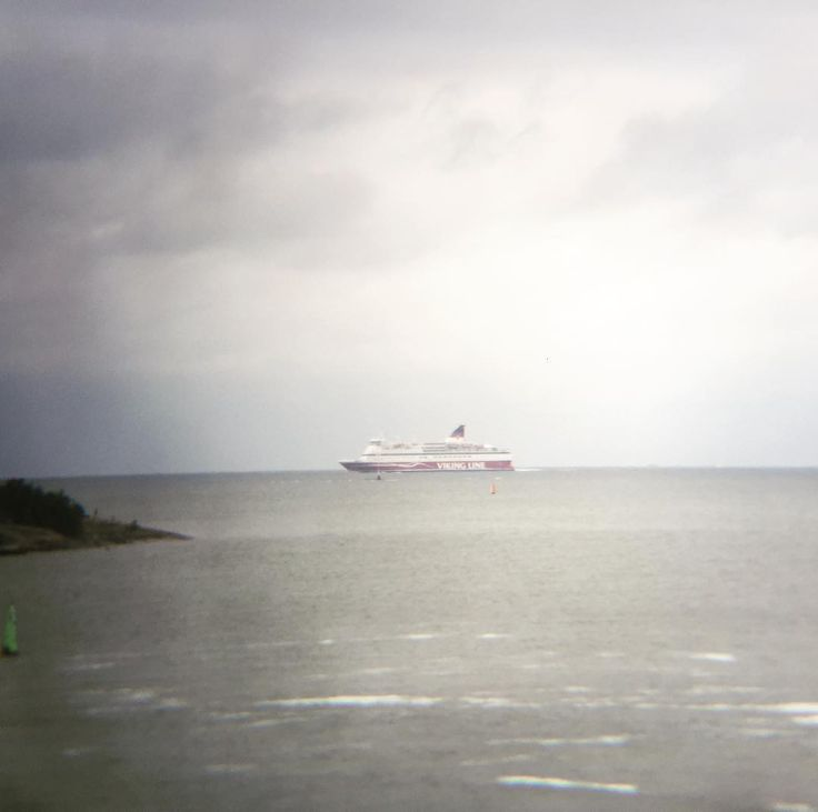 Can you spot the ship @vikinglinesuomi #sailing #ships @ourfinland
