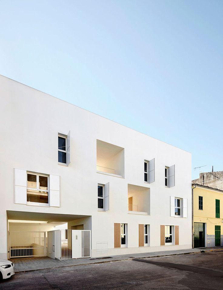 Social Housing in Sa Pobla / Ripoll - Tizón