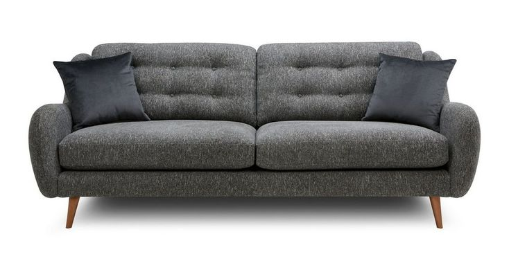Camden Plain 4 Seater Sofa Camden Plain Dfs Seater Sofa Sofa Dark Grey Sofa Living Room