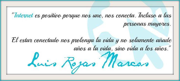 Cita de Luis Rojas Marcos