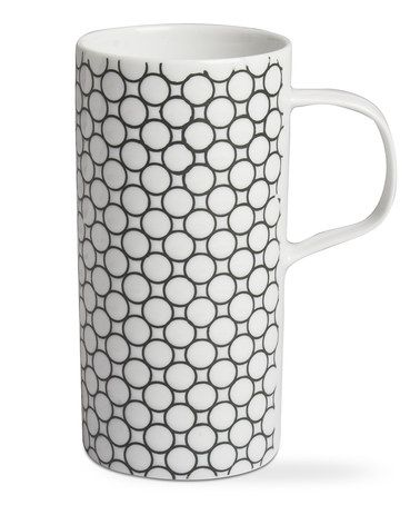 Love this Extra Tall Dotted Latte Mug - Set of Four on #zulily! #zulilyfinds