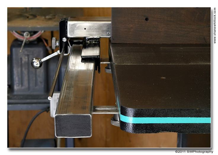 Shop Made Band Saw Fence With Micro Adjust Shop Notes