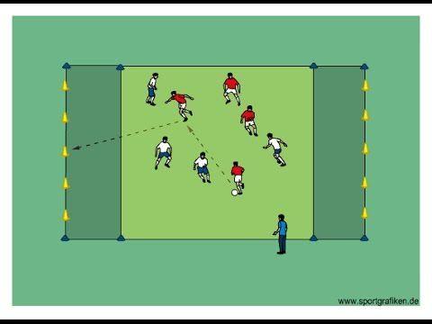 4v4 Cone Knock Down - Top Soccer Drills