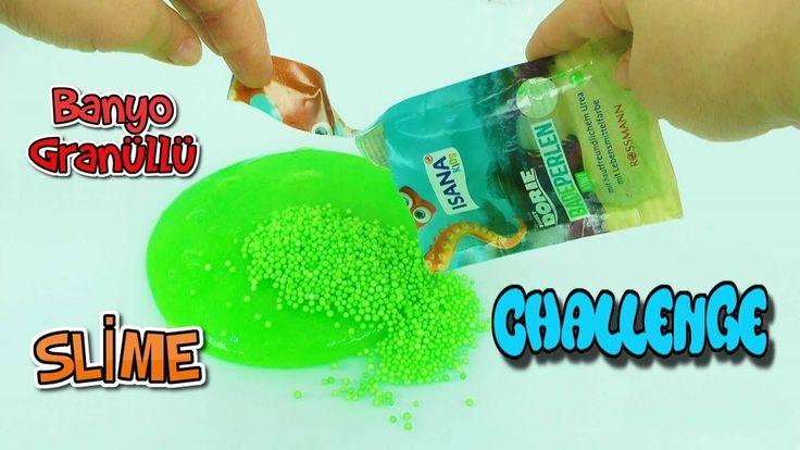 Banyo Granüllü Slime Challenge - Öykü Usta