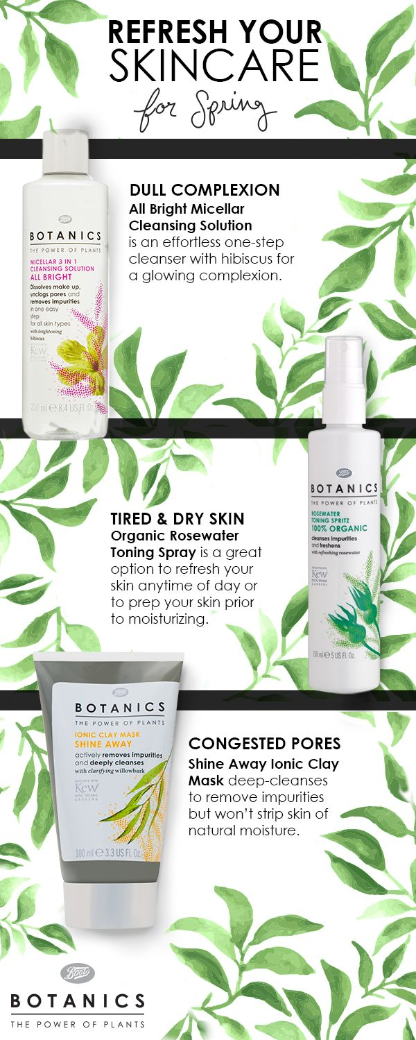 On the hunt to find a more refreshing  regimen? From All Bright to Ultra Calm, our Botanics skincare line contains powerful plant extracts to  leave your skin hydrated and healthy. Try these  additions to your daily or nightly routine, all available at @target:  Botanics All Bright Micellar Cleanser – $7.49  at Target.com Botanics Organic Rosewater Toning Spritz –  $6.29 at Target.com Botanics Ionic Clay Mask with Willowbark –  $7.19 at Target.com
