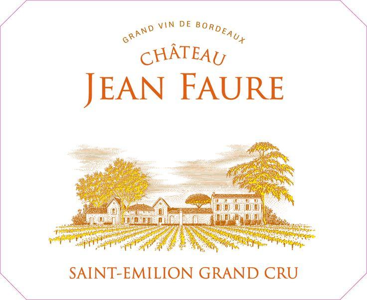 Bordeaux Chateau Jean Faure - wine labe
