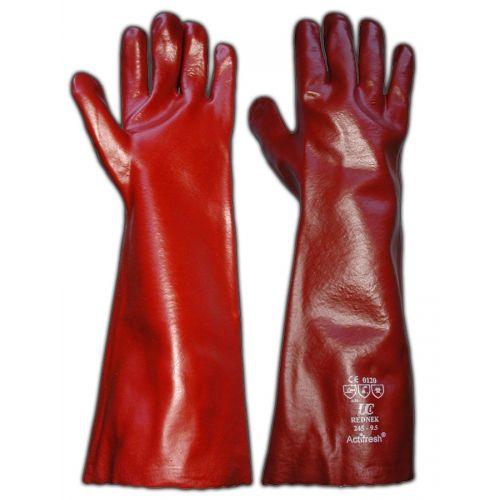 "PVC Open Cuff Gloves, 18"""