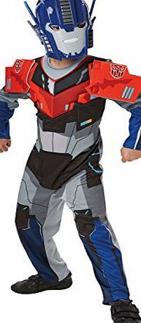 Rubies Official Transformers Hasbro Optimus Prime Deluxe, Children Costume - Medium Keep away from fire<br /><br /> (Barcode EAN = 0883028057641). http://www.comparestoreprices.co.uk/december-2016-week-1/rubies-official-transformers-hasbro-optimus-prime-deluxe-children-costume--medium.asp