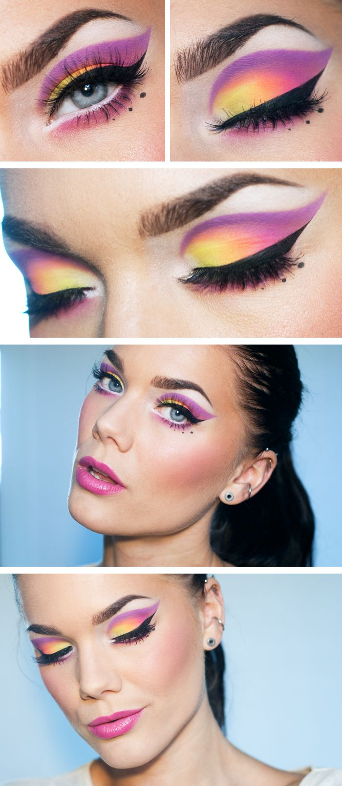 Todays look – All myself to you | #dramatic #bright